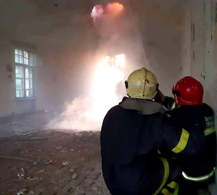 Градоначалникот Коста Јаневски им го честита Денот на пожарникарите