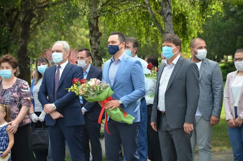 Општина Струмица го одбележа денот на раѓањето на трагично загинатиот претседател Борис Трајковски