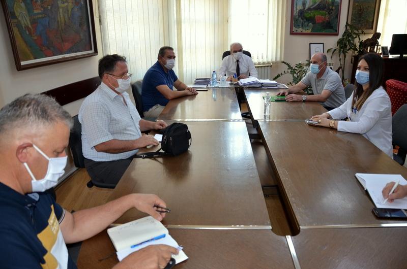 Се одржа координативен состанок за актуелната состојба со КОВИД-19 во Општината
