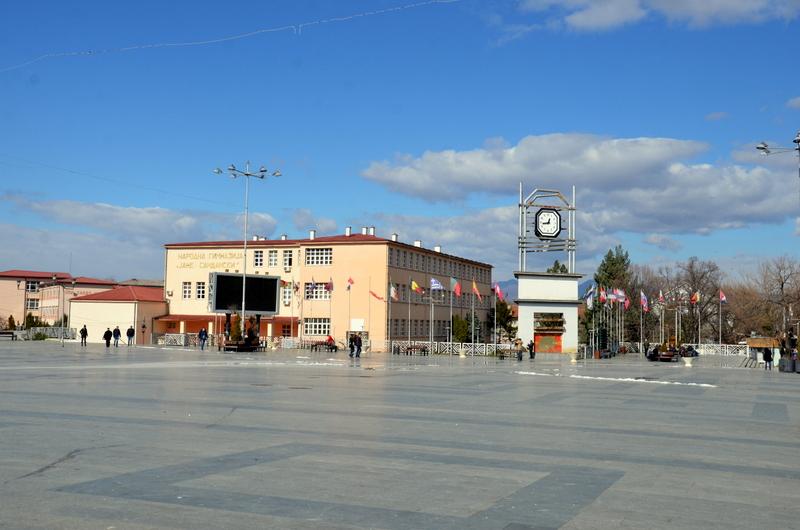 """Ѕвездата на Горан Пандев е повторно поставена на плоштадот """"Гоце Делчев"""""""